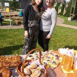Obuolinių gardumynų kepėjos - mamytės Lina ir Rimantė