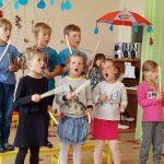 """""""Drugelių"""" grupės vaikų pasirodymas"""