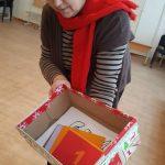1 diena - kartu su auklėtoja Kristina stebuklingoje dėžėje suradome 10 Nykštukų laiškų...