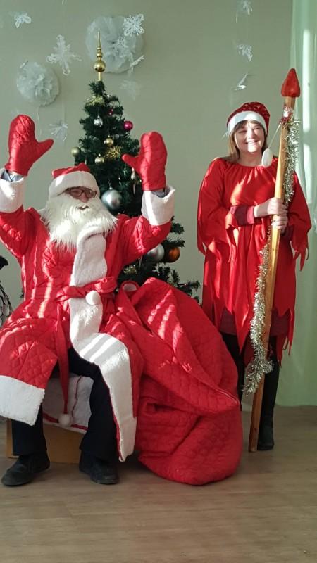 Va! Kalėdų senelis jau čia!